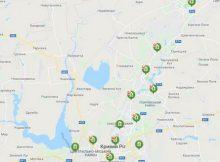 карта отделений Приватбанка в Кривом Роге