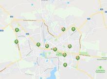 карта отделений Приватбнка в Ровно