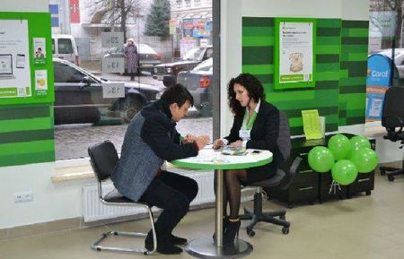 процес оформления кредита в отделении